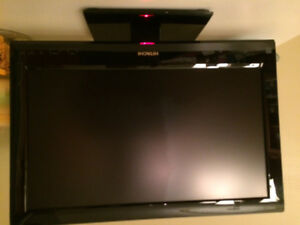Hitachi flat screen 19 inch lcd tv with HDMI  ,