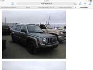 2012 JEEP PATRIOT FOR PARTS