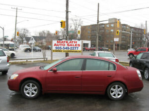 **2003 Nissan Altima 2.5** Cert & E-tested