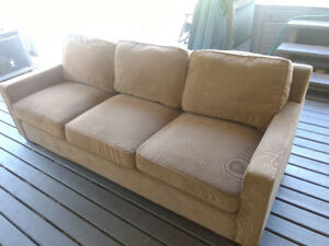 Free - Large Brown Sofa