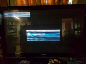 Samsung tv -read description (buy for refurbish)?