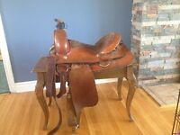 Cherokee Western Roping Saddle