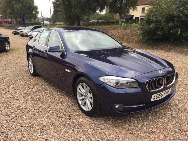 2010 BMW 5 Series 2.0 520d SE Saloon 4dr Diesel Manual (129 g/km, 184 bhp)