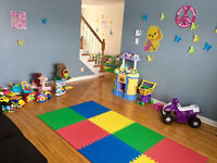 FT/PT spots avail. in registered, spacious home daycare Bedford