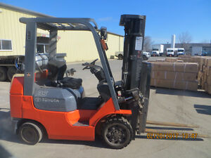 TOYOTA FORKLIFT - EXCELLENT WORKING UNIT