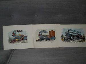Several train books and prints suitable for framing Belleville Belleville Area image 7