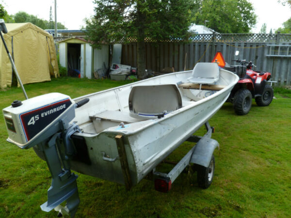 1980 Other Aluminum 12' Fishing Package