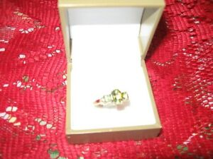 10 K Gold Citrine Ring  – size 10