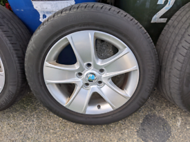"""5x112 16"""" alloy wheels and tyres"""
