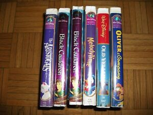 New & Used VHS Tapes
