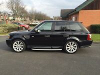 REDUCED RANGE ROVER SUPERCHARGED LOW MILES MINT FSH NEW MOT NEED QUICK SALE SERIOUS OFFERS
