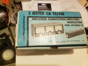 Vintage Micronta 3 range power modulation SWR tester model 21-52