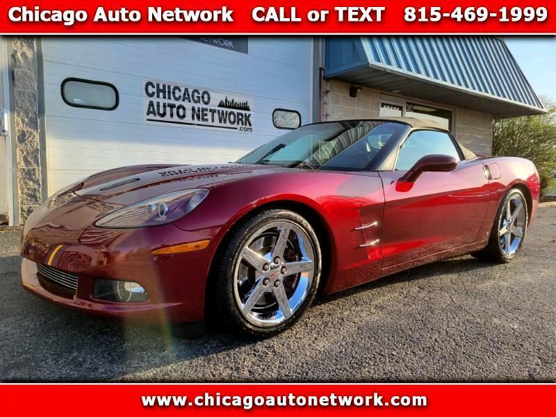 2006 Burgundy Chevrolet Corvette Convertible    C6 Corvette Photo 1
