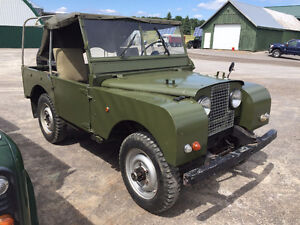 "Land Rover Series I 80"" 1952"