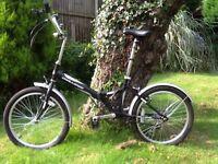 Folding cycle bike