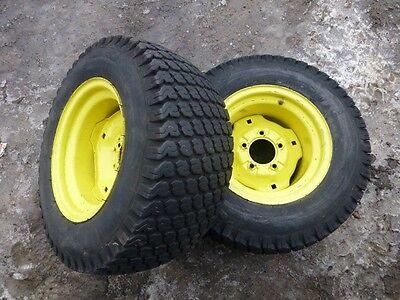 John Deere 318 Tractor Good Year 23x10 50 12 Rear Tires Amp Rims