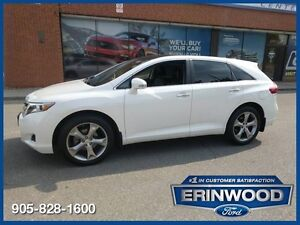 2014 Toyota Venza Limited AWD V6 / Navi / Pano Roof / Lthr / 20""