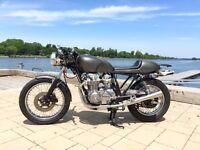 Cafe racer Cb 650 1980