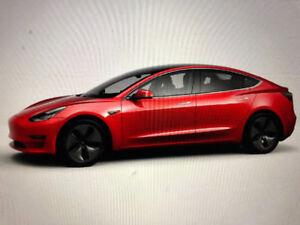 2018 Tesla Red Model 3 Sedan NEW = BEST OFFER