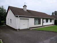 Three Bedroom Bungalow in Magherafelt for Rent