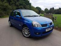 Renault Clio 2.0 16V Renaultsport Cup 172 BHP 3 DR