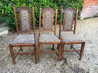 3x occasional, dining chair