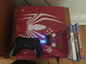 Ps4 pro Spider-Man edition bundle