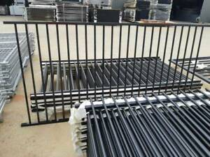 1200H*2400W Solid galv steel fencing
