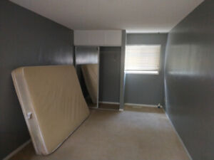 Large second floor bedroom for rent available immediately or Nov