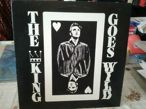 Disque rare vinyle 33 tours Elvis Presley: The King Goes Wild