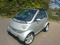 SMART FORTWO I-MOVE AUTOMATIC CONVERTIBLE SILVER 2 DOOR PETROL 2005