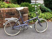 Raleigh folding bike