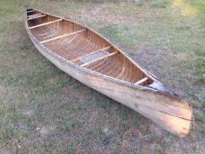 16' cedarstrip canoe