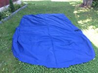 Sea Ray 185 canvas boat snap down cover