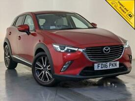 image for 2016 MAZDA CX-3 SPORT NAV BOSE SOUND HEADS-UP DISPLAY HEATED SEATS SVC HISTORY