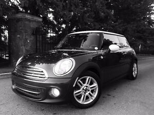 2012 MINI Cooper Low Km Certified Mint Must See Special $14,995.