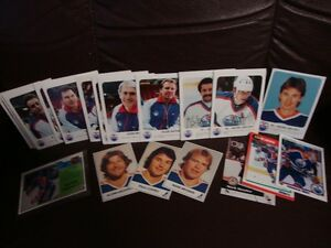 23 OLD OILERS CARDS (16 RED ROOSTER CARDS) + CALENDAR