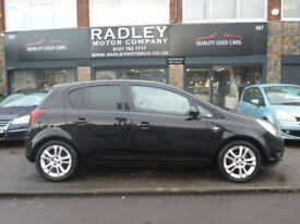 2010 Vauxhall Corsa 1.2i 16v ( 85ps ) ( a/c ) SXi 5DR 10 REG Petrol Black