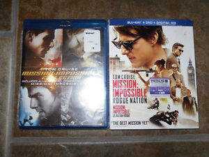 Mission Impossible Collection, Blu-ray - Brand New