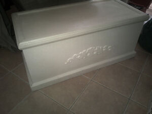 solid hardwood chest