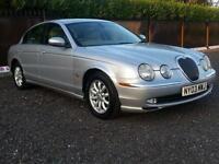 Jaguar S-TYPE 2.5 V6 auto SE silver 2003