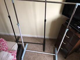 Clothes rack rail x2