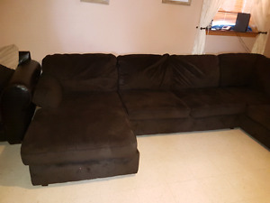 3 piece cloth sectional