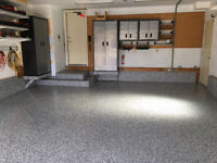Epoxy and Polyaspartic Garage Coatings - Fall Specials!!