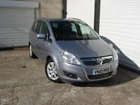 2010 10 Vauxhall Zafira 1.7CDTi 16v ecoFLEX Design **Full Service History**
