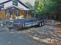 Perfect Landscaping Trailer