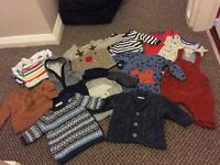 Boys NEXT bundle (newborn upto 10lb) 14 items
