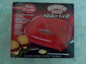 Betty Crocker Mini Slider Grill Belleville Belleville Area image 1