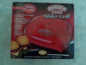 Betty Crocker Mini Slider Grill