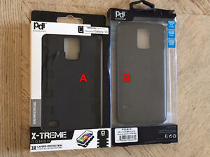 Samsung Galaxy S5, S3, Note 2 cases and screen protectors